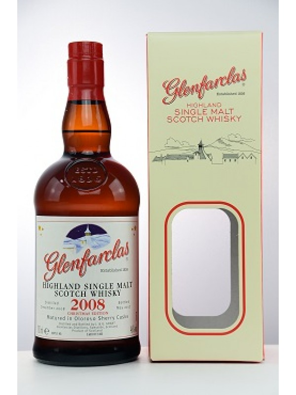Glenfarclas 2008 / 2017 Christmas Edition