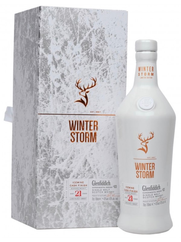 Glenfiddich Winter Storm 21 Jahre Icewine Cask Finish