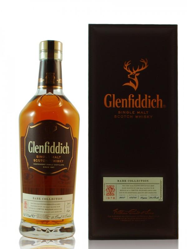 Glenfiddich 1978 39 Jahre in exclusiver Geschenkverpackung