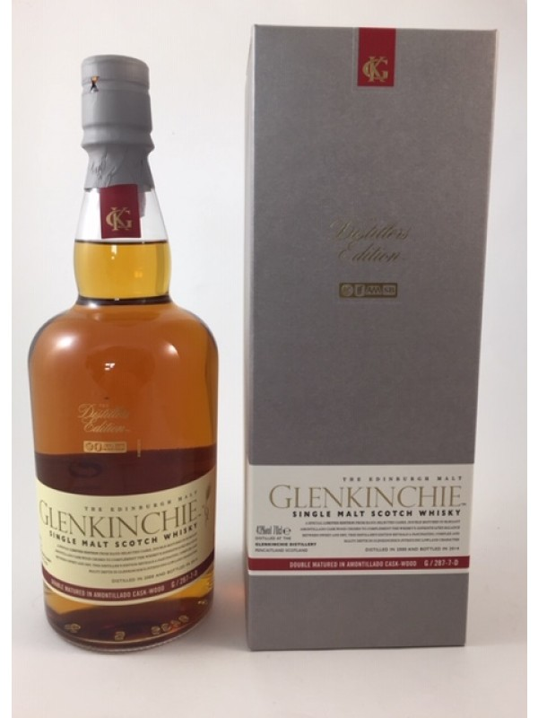 Glenkinchie Distillers Edition Amontillado Sherry Finish 2000 / 2014