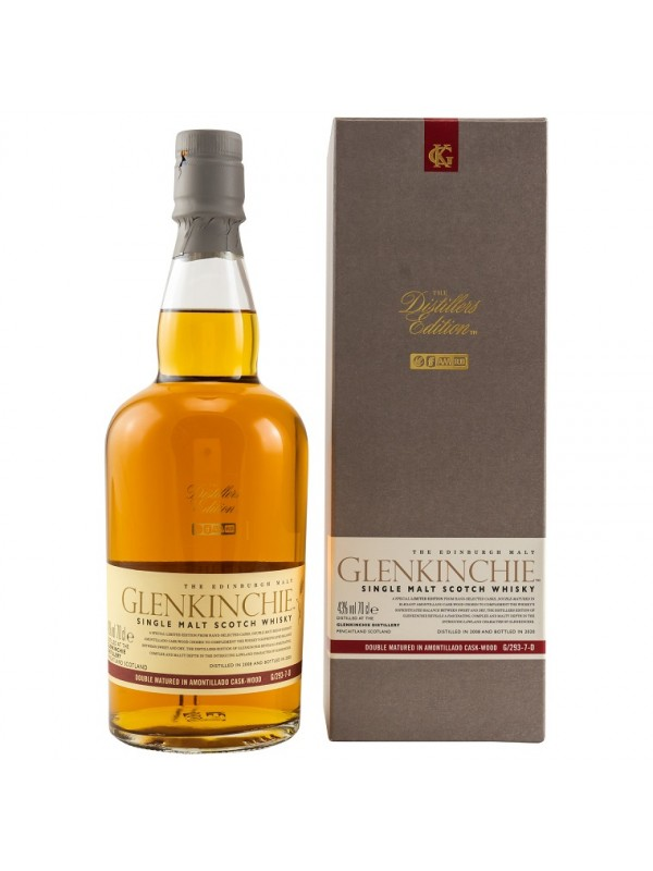 Glenkinchie Distiller's Edition Amontillado Sherry Finish 2008 / 2020