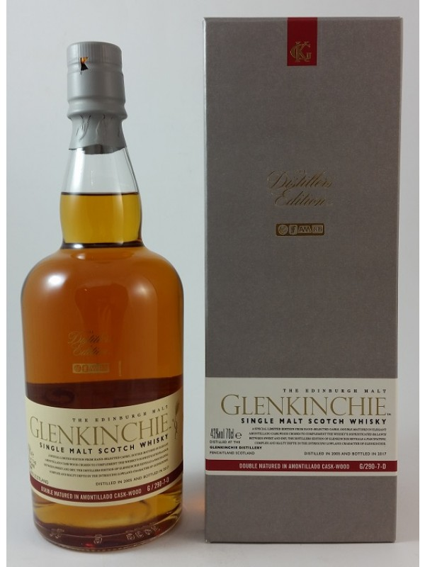 Glenkinchie Distiller's Edition Amontillado Sherry Finish 2005 / 2017