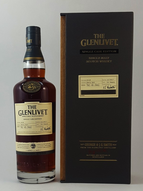 The Glenlivet Single Cask Edition 2017