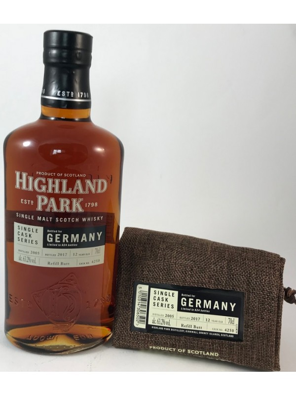 Highland Park 2005/2017 Single Cask 4250