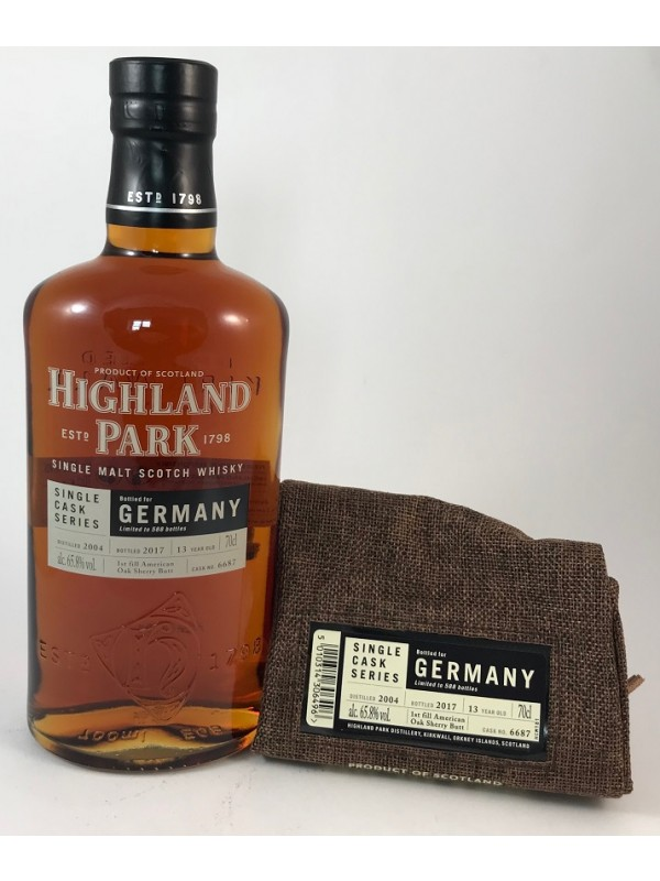 Highland Park 2004/2017 Single Cask 6687