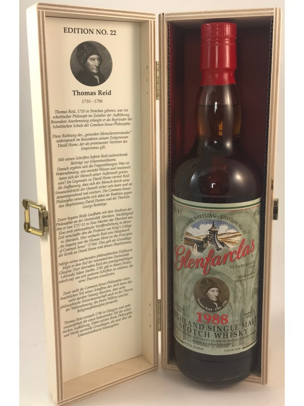Glenfarclas Sonderedition No.22 Thomas Reid - Vintage 1988 / 2018