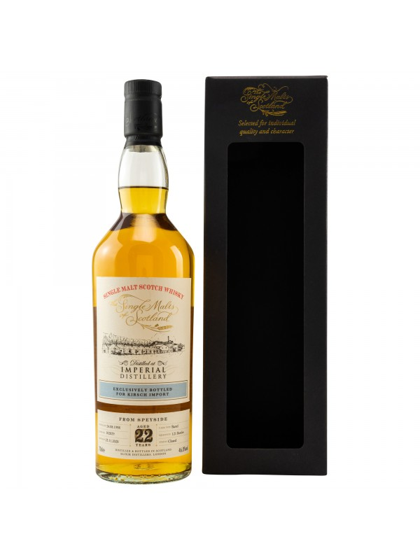 Imperial 22 Jahre 1998 / 2020 - The Single Malts of Scotland Lost Distillery