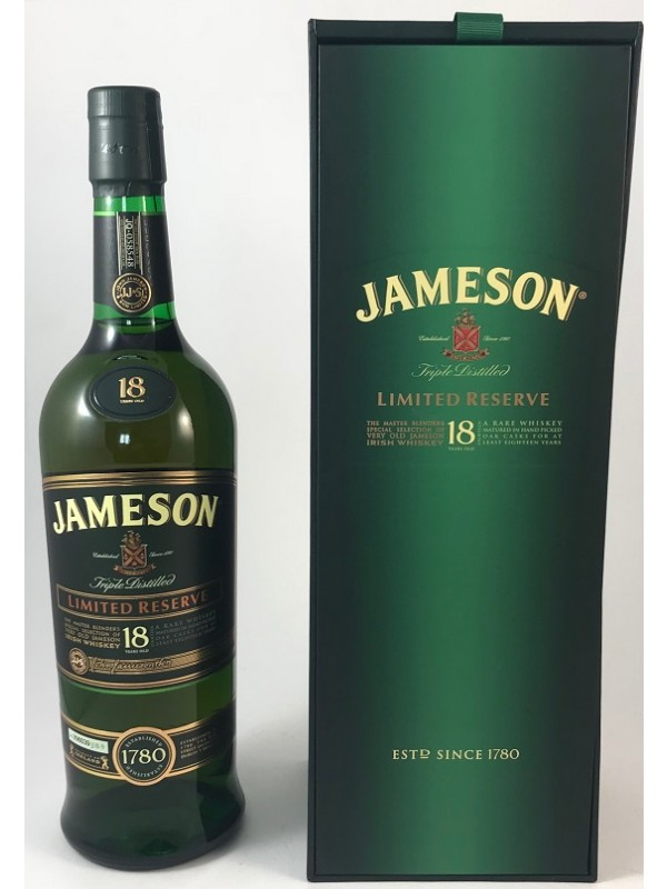 Jameson Whiskey 18 Jahre Limited Reserve