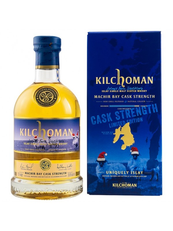 Kilchoman Machir Bay Cask Strength - Christmas Edition