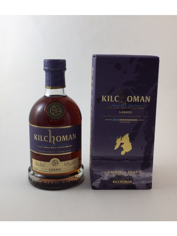 Kilchoman Sanaig  - very dark -