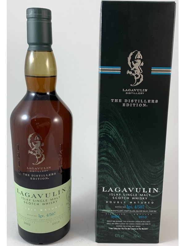 Lagavulin Distiller's Edition 2002 / 2018