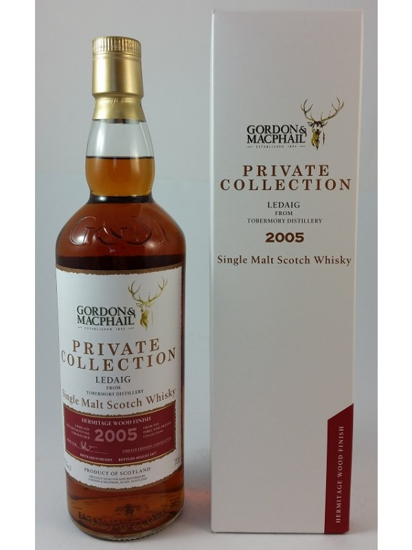 Ledaig 2005 / 2017 Hermitage Gordon & MacPhail Private Collection