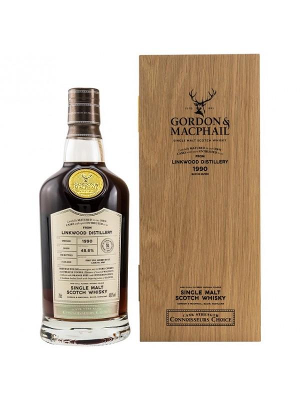 Linkwood 30 Jahre 1990 / 2020 Gordon & MacPhail Connoisseurs Choice
