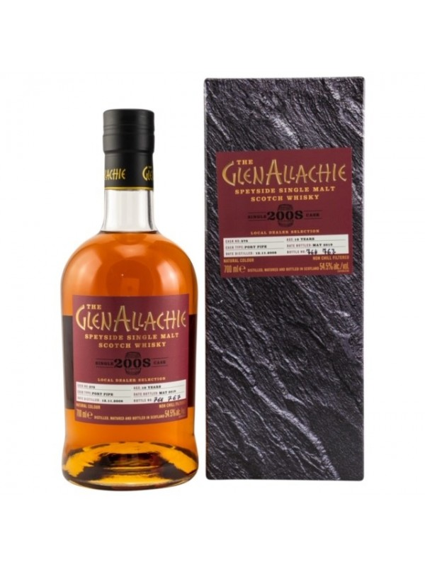 Local Dealer Selection Glenallachie 10 Jahre Port Pipe