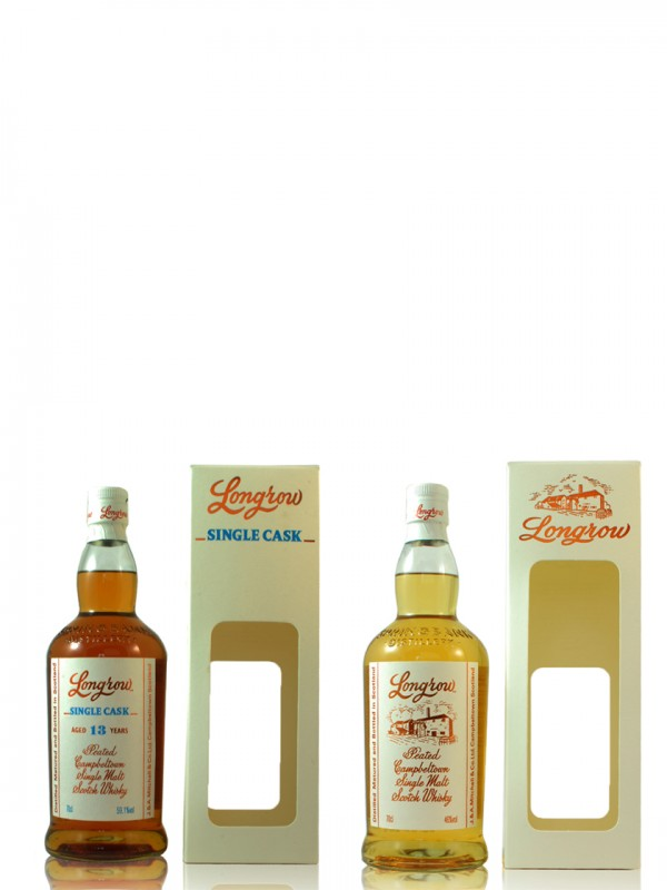 Longrow Set - Peated + 13 Jahre Single Cask