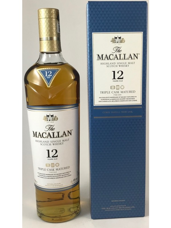 Macallan 12 Jahre Triple Cask Matured Triologie