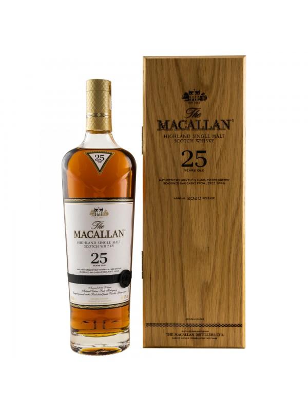 Macallan 25 Jahre - Originalabfüllung - Top Rarität