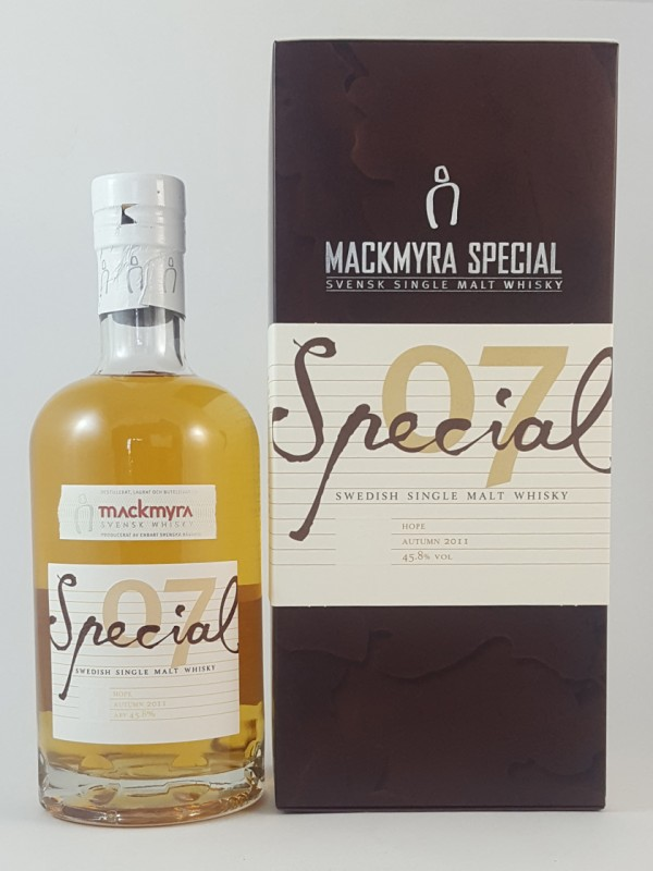 Mackmyra Special 07 Hope Autumn 2011