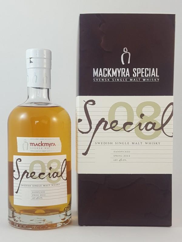 Mackmyra Special 08 Handpicked Spring 2012
