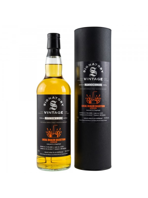 Local Dealer Selection - Mannochmore 2008 / 2019 Signatory
