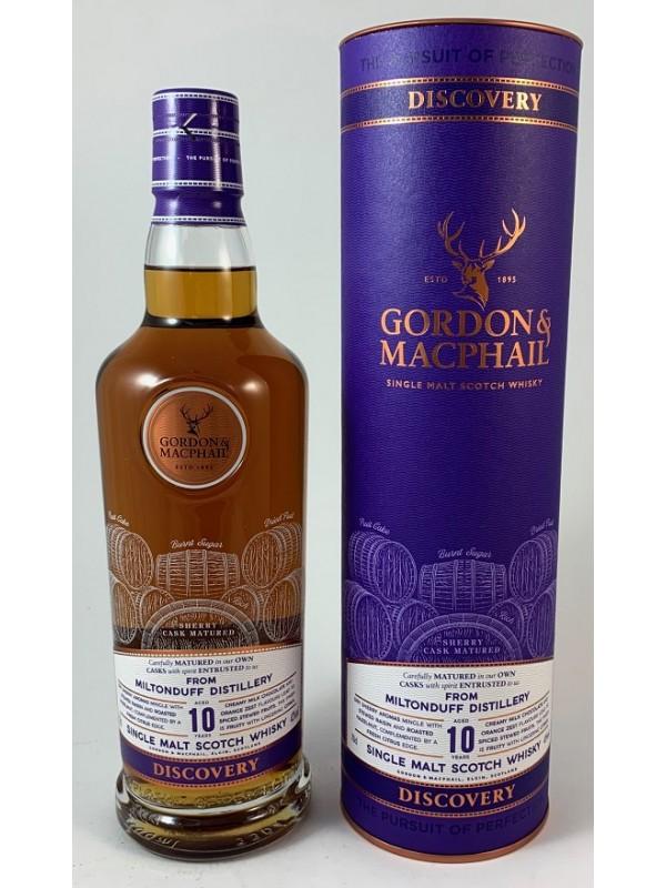Miltonduff 10 Discovery Gordon MacPhail