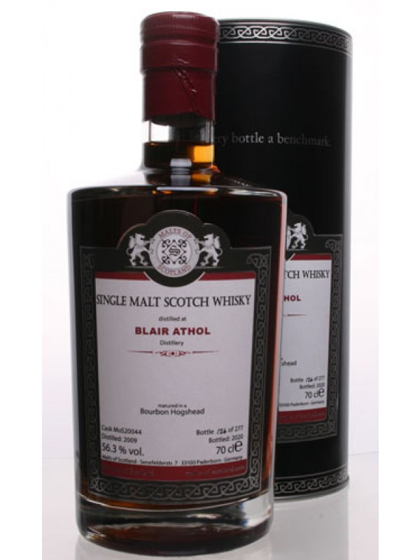 Blair Athol 2009 / 2020  MoS20044 - Malts of Scotland