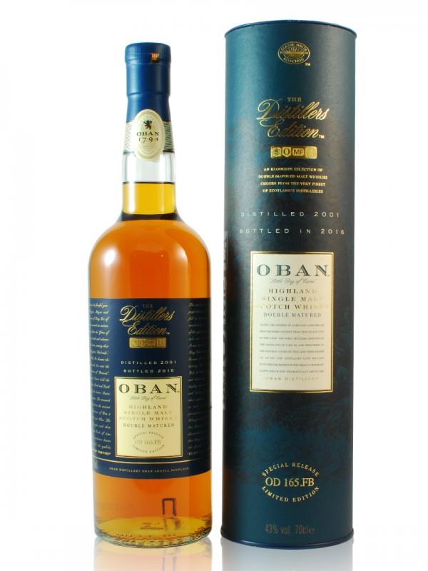 Oban Distiller's Edition 2001 / 2016