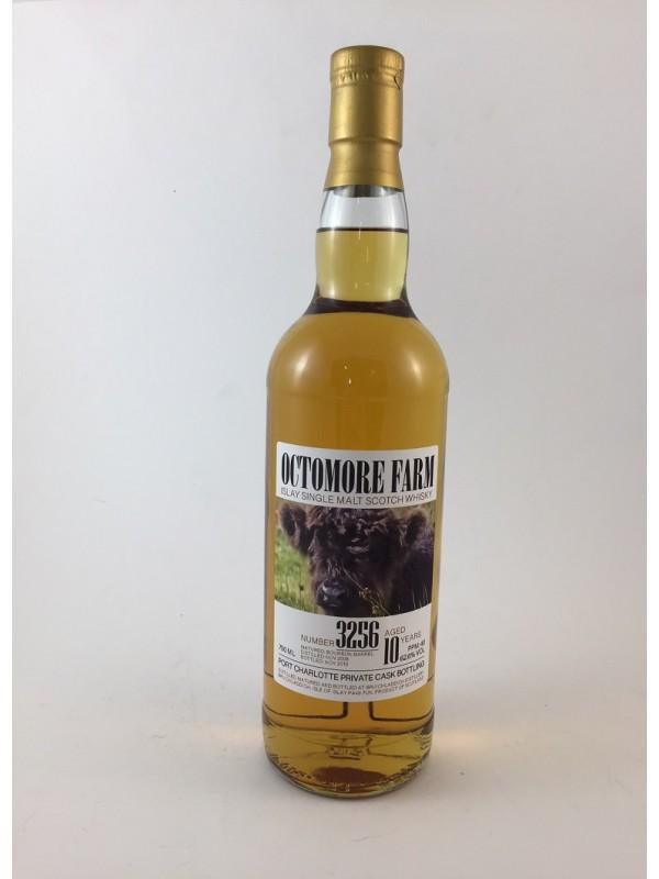 Octomore Farm 10 Jahre Port Charlotte Private Cask 3256 - Einzelflasche