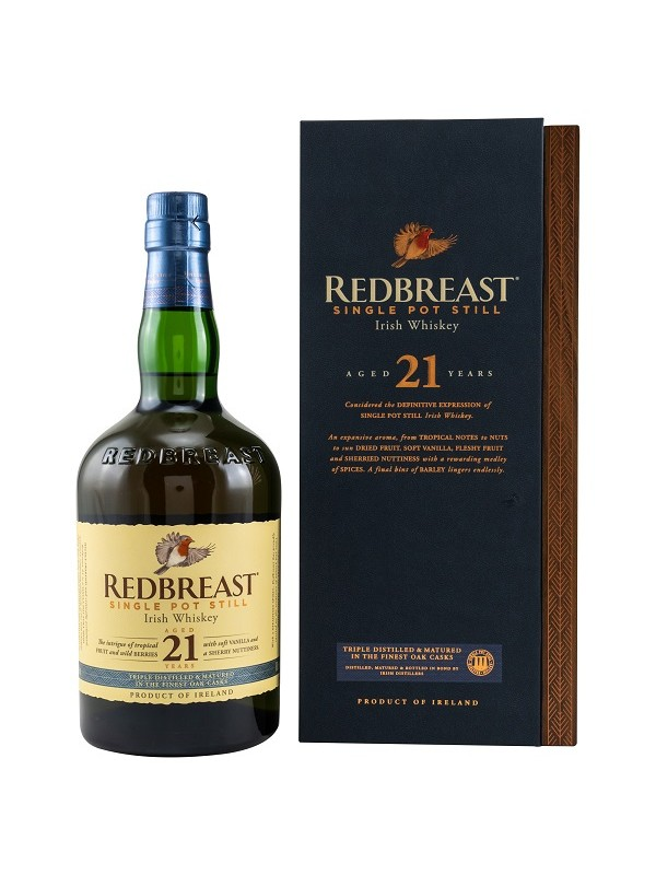 Redbreast 21 Jahre in Holzbox