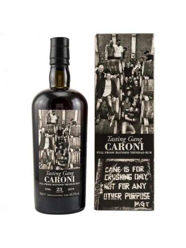 Caroni 23 y - Tasting Gang - 38th Release 1996 / 2019 Rarität