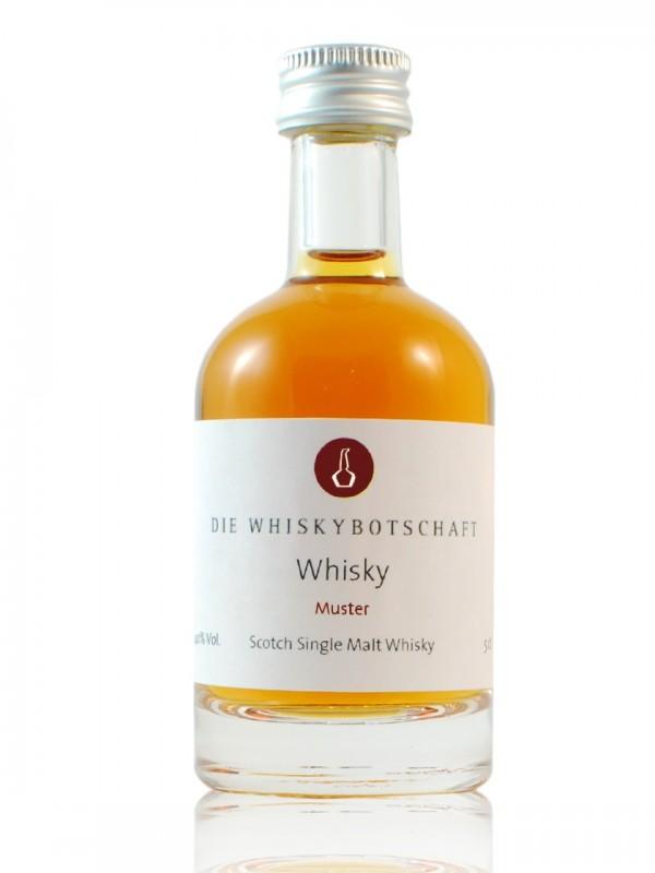 Sample - Glen Moray 11 Jahre Octave Cask von Claxton`s  Sonderabfüllung für die Whiskybotschaft