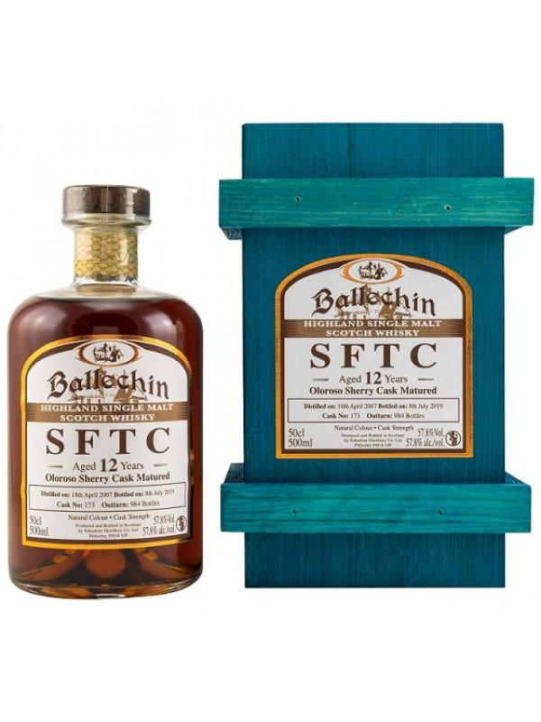 Edradour Ballechin 2007 / 2019 SFTC 12 Jahre Oloroso Sherry Cask