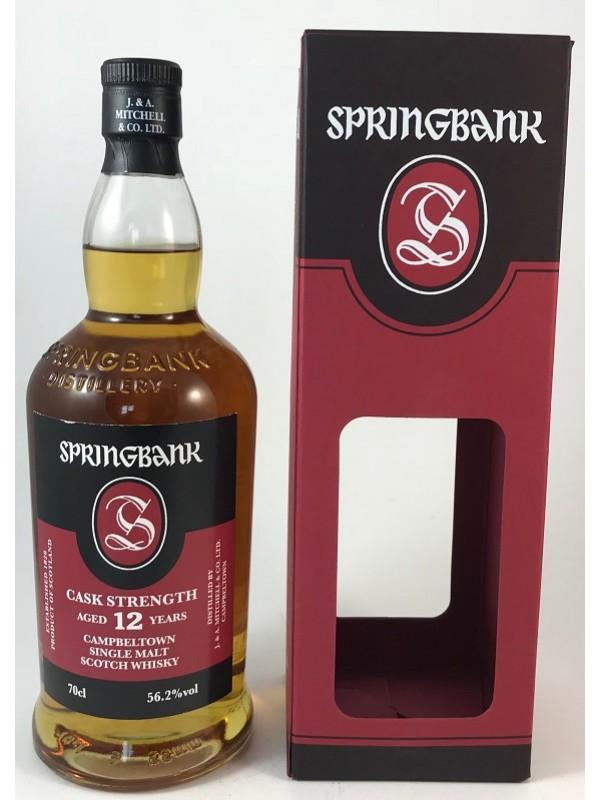 Springbank 12 Jahre Cask Strength 56,2 vol