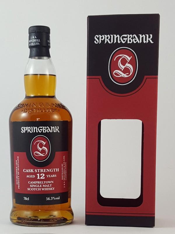 Springbank 12 Jahre Cask Strength 56,3 vol