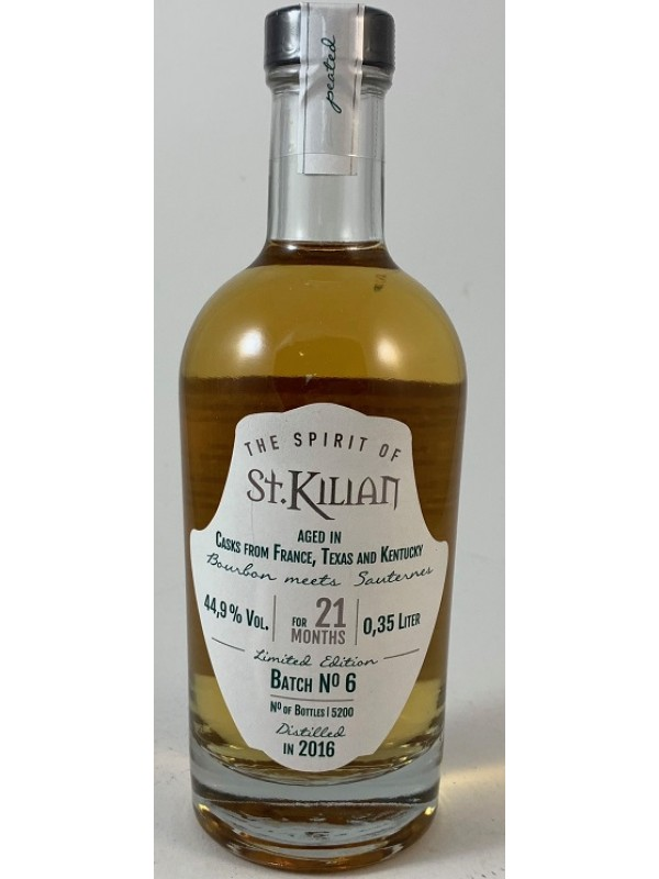 St. Kilian Batch No.6 Limited Edition