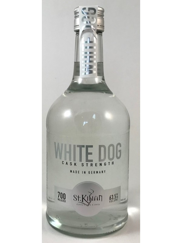 St. Kilian White Dog Cask Strength 63,5