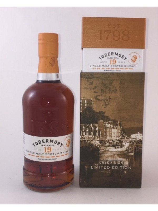 Tobermory 19 Jahre Marsala Cask Finish - Limited Edition