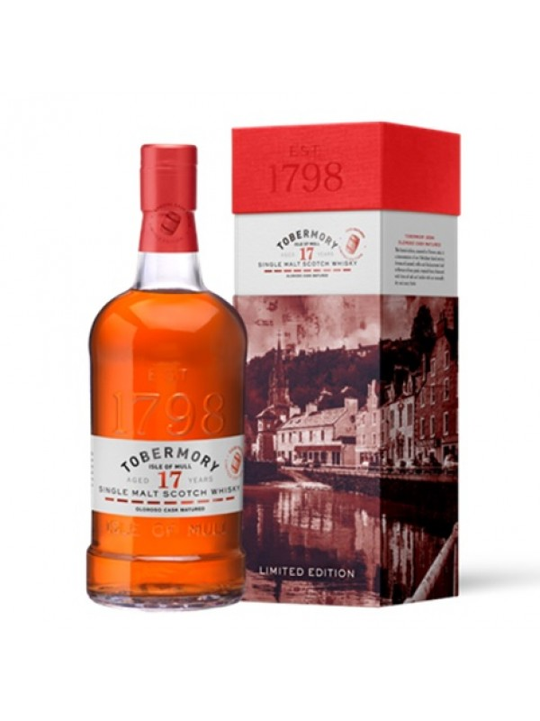 Tobermory 17 Jahre Oloroso Cask Matured - Limited Release