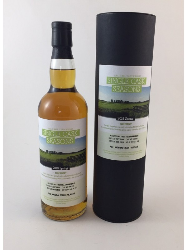 Tobermory 11 Jahre 2006 / 2018 - Spring 2018 Single Cask Seansons