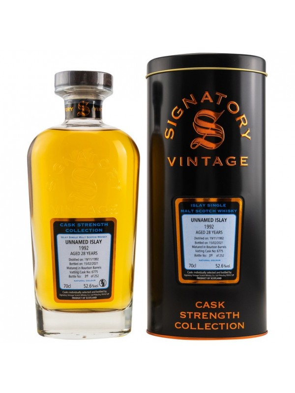 Unnamed Islay 28 Jahre 1992 / 2021 Signatory CS