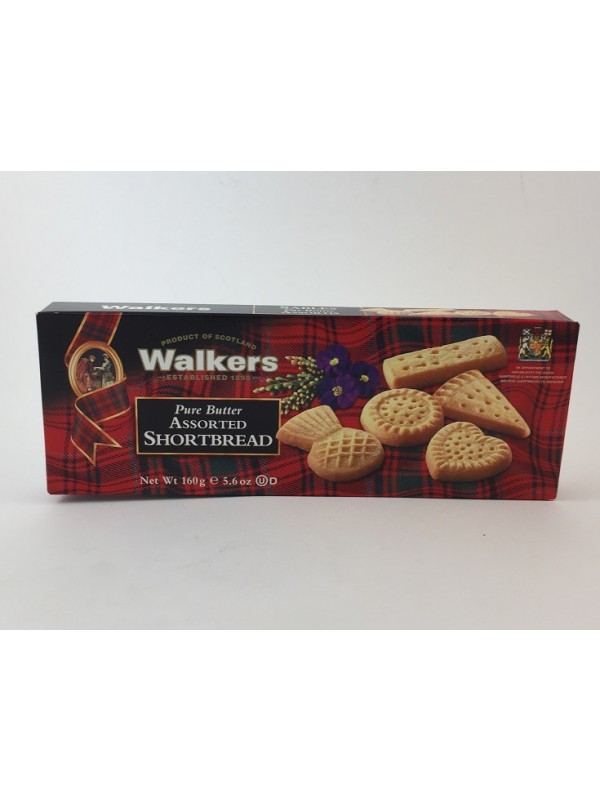 Walkers Assorted Shortbread 160 g