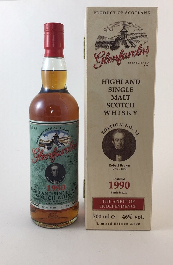 Glenfarclas 1990 / 2020 Edition No. 24 Robert Brown