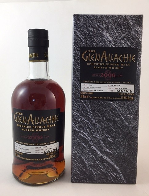 GlenAllachie 2006 / 2019 Single Cask 4522 - PX Puncheon