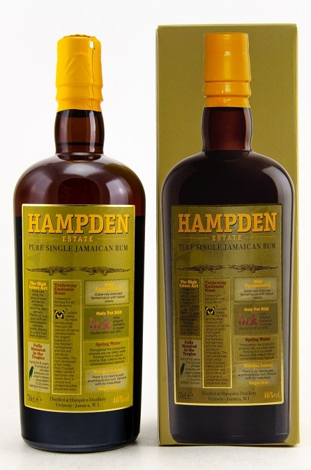 HAMPDEN Pure Single Jamaican Rum