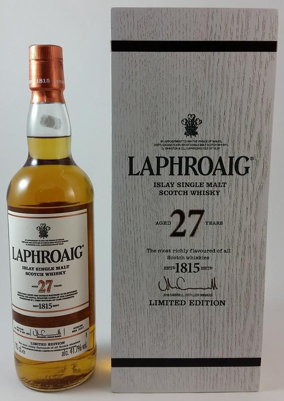 Laphroaig 27 Jahre