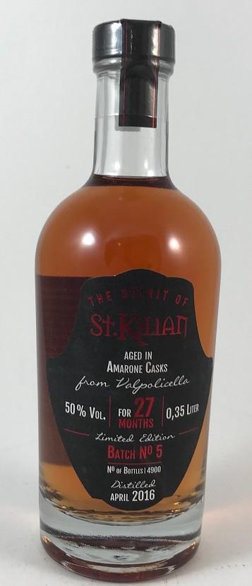 The Spirit of St. Kilian Batch. No.5 / 0,35l- Limited Edition