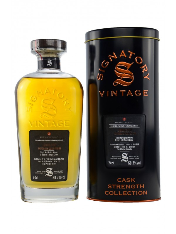 Private Edition No.3 Signatory Vintage- Ledaig 10 Jahre Bordeaux Cask Finish