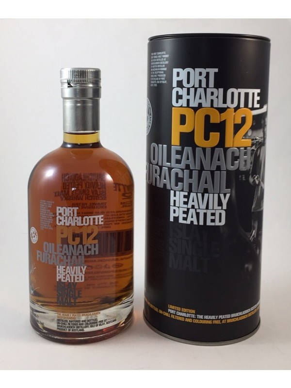 Bruichladdich Port Charlotte PC12 Heavily Peated
