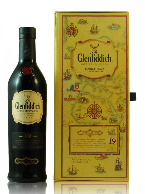 Glenfiddich 19 - Madeira cask - Age of Discovery
