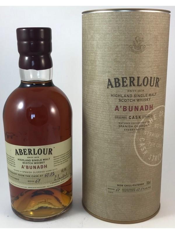 Aberlour abunadh Batch 61